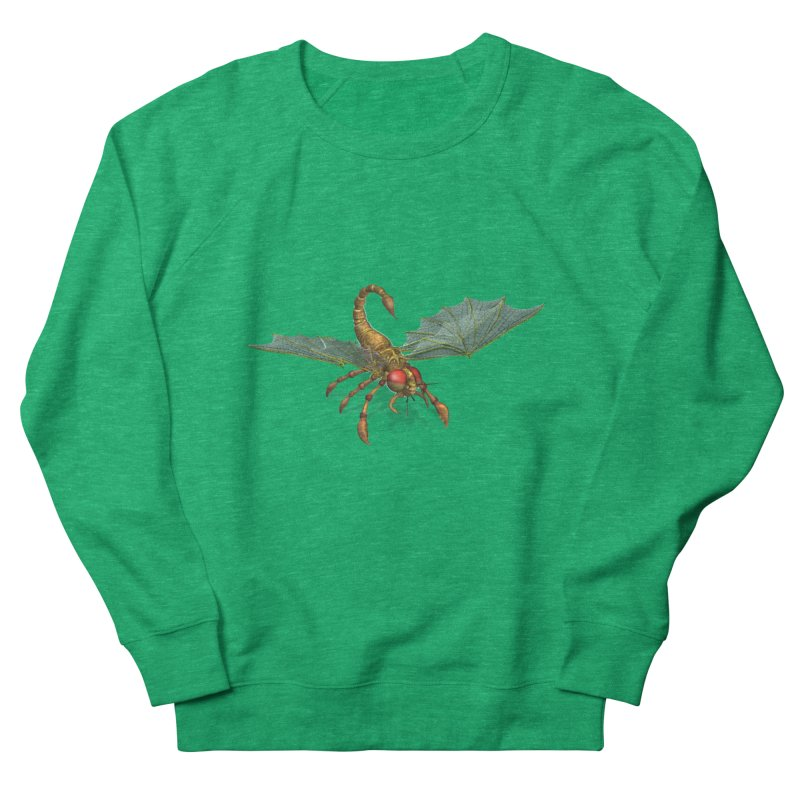 ScorpFly Women's Sweatshirt by ChrisCustoms