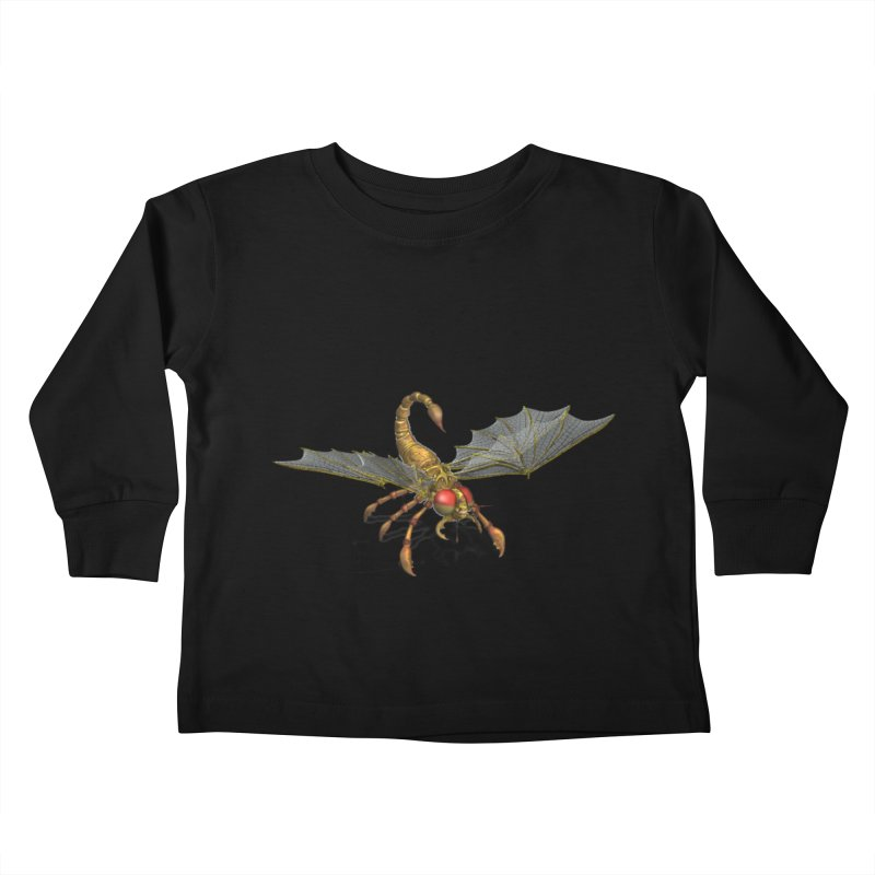 ScorpFly Kids Toddler Longsleeve T-Shirt by ChrisCustoms