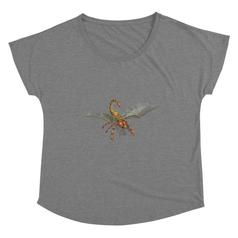 ScorpFly Women's Scoop Neck by ChrisCustoms