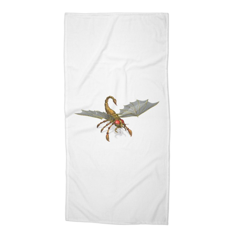 ScorpFly Accessories Beach Towel by ChrisCustoms