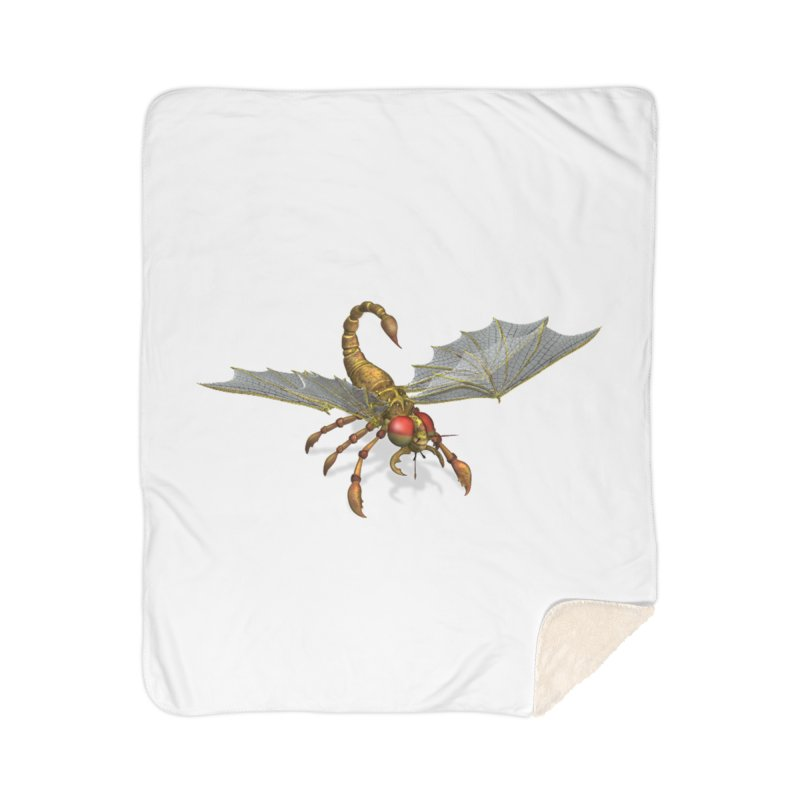 ScorpFly Home Blanket by ChrisCustoms