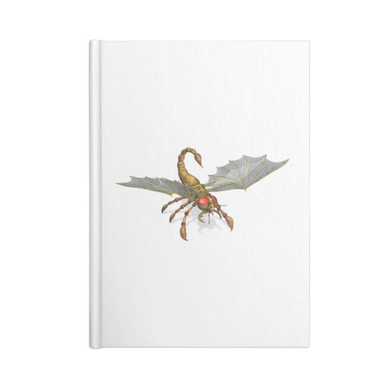 ScorpFly Accessories Notebook by ChrisCustoms