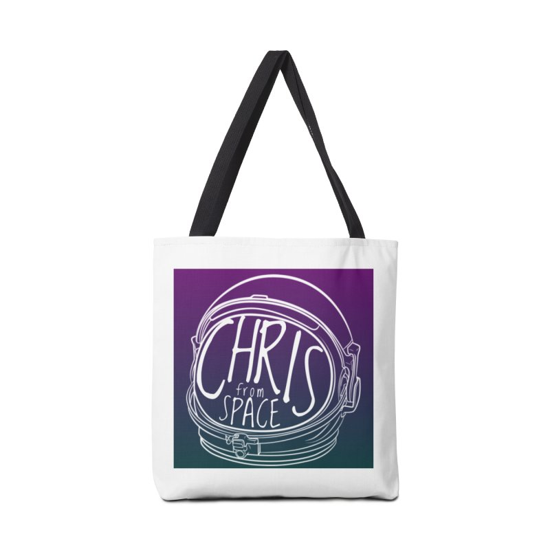 Helmet logo Accessories Tote Bag Bag by Chris From Space Shop