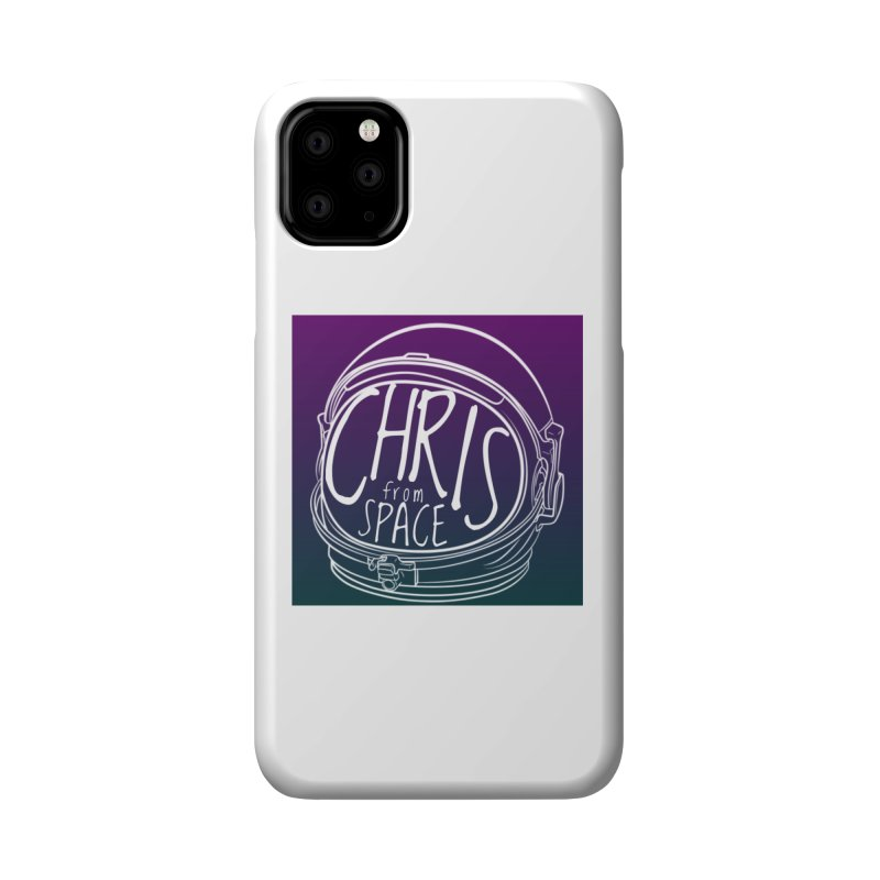Helmet logo Accessories Phone Case by Chris From Space Shop