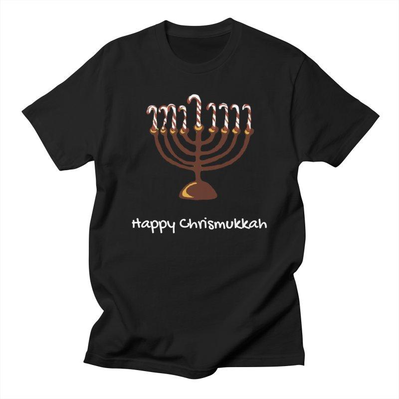 Happy Chrismukkah  Men's T-Shirt by chrismukkah's Artist Shop