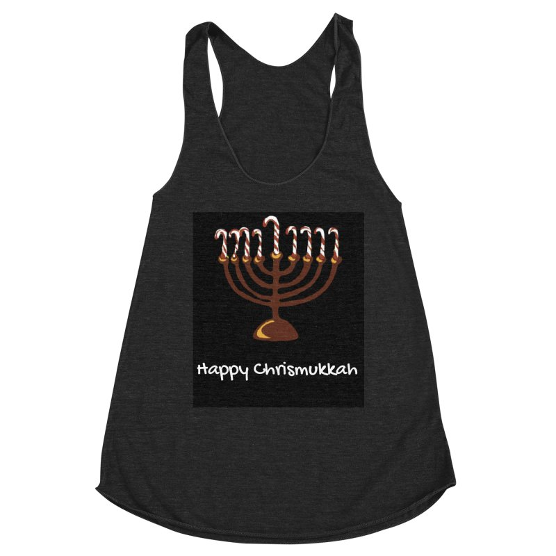 Happy Chrismukkah  Women's Tank by chrismukkah's Artist Shop