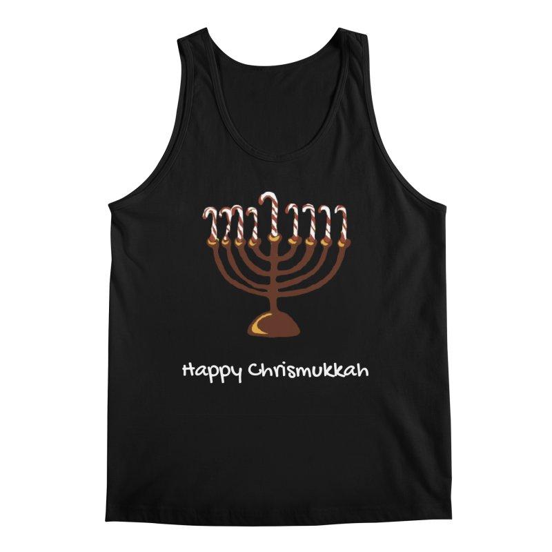 Happy Chrismukkah  Men's Tank by chrismukkah's Artist Shop