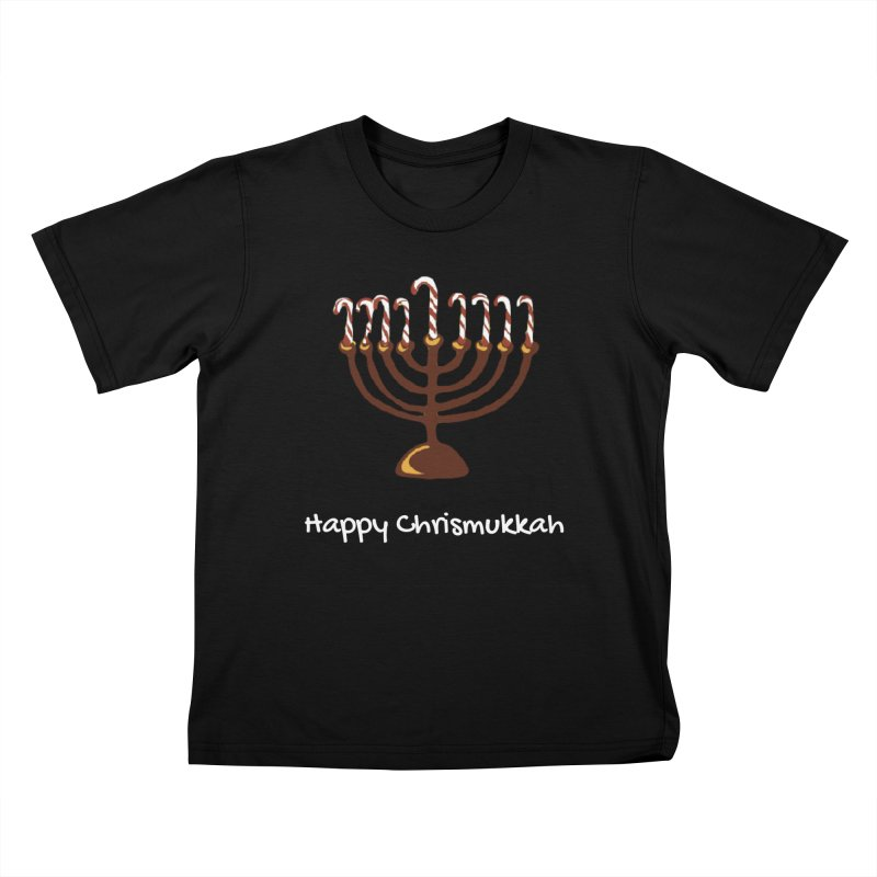 Happy Chrismukkah  Kids T-Shirt by chrismukkah's Artist Shop