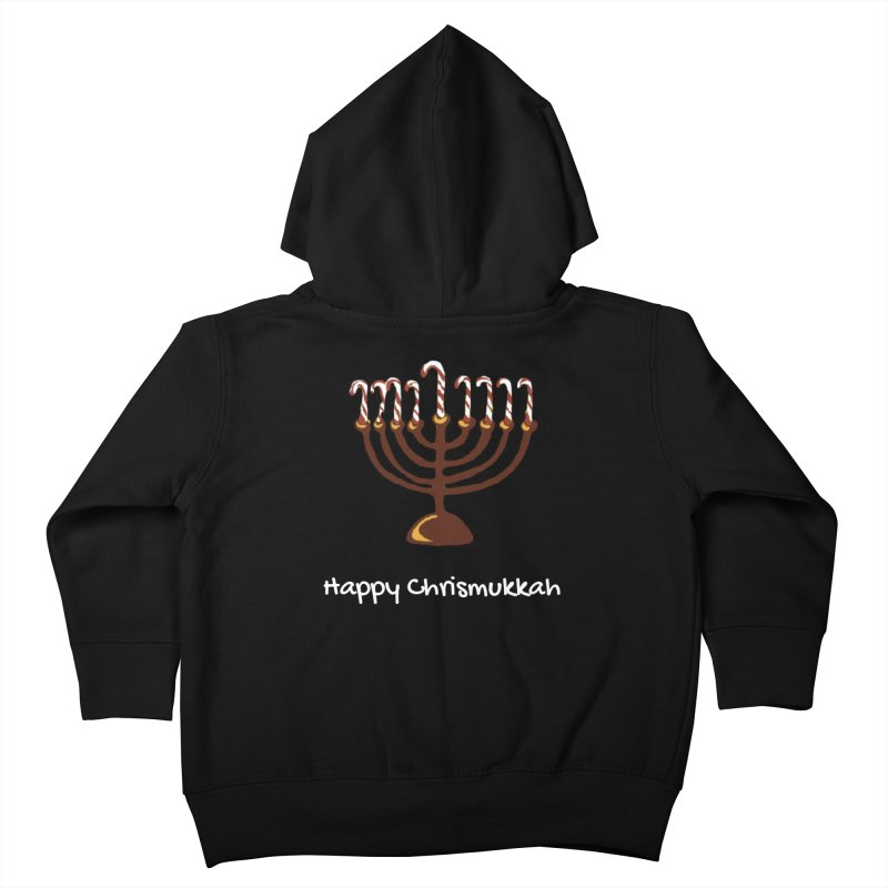 Happy Chrismukkah  Kids Toddler Zip-Up Hoody by chrismukkah's Artist Shop