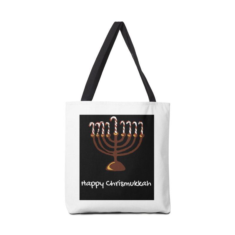 Happy Chrismukkah  Accessories Bag by chrismukkah's Artist Shop