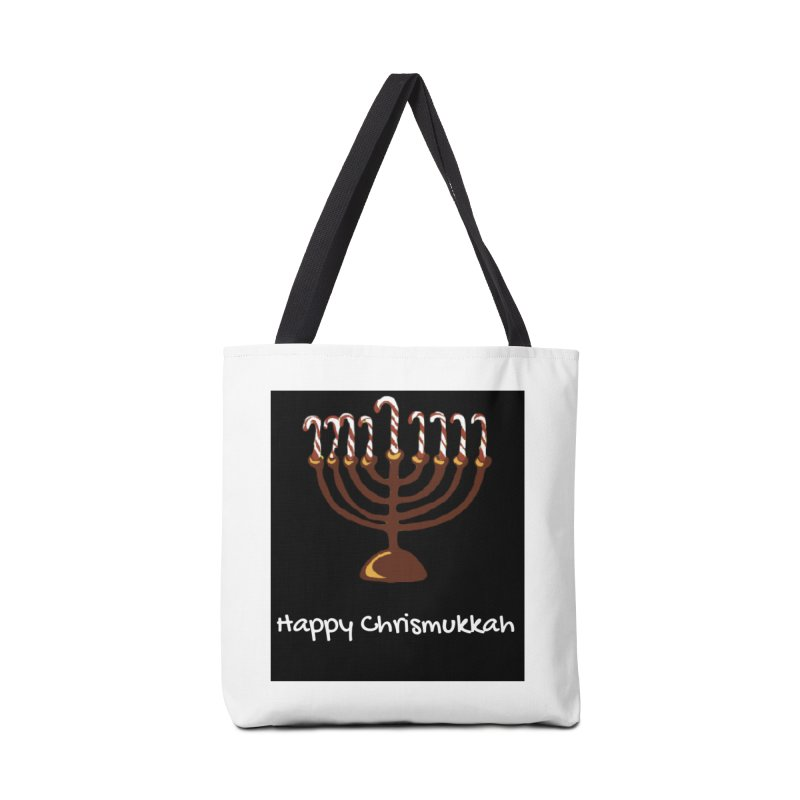 Happy Chrismukkah  Accessories Tote Bag Bag by chrismukkah's Artist Shop