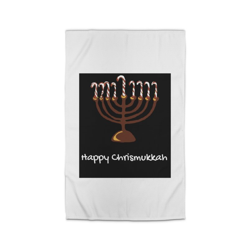 Happy Chrismukkah  Home Rug by chrismukkah's Artist Shop