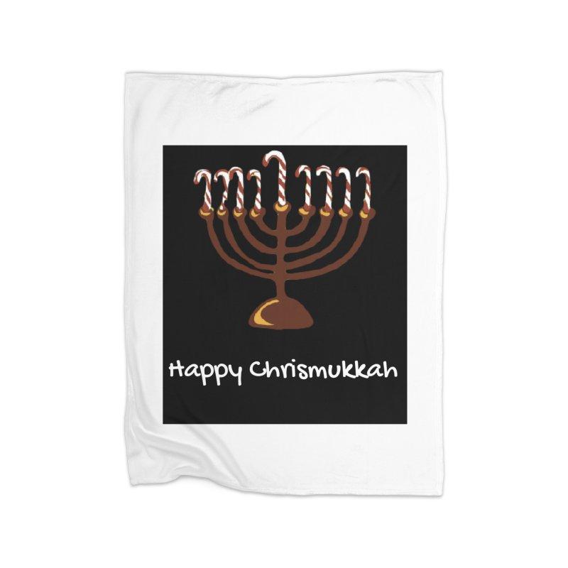 Happy Chrismukkah  Home Blanket by chrismukkah's Artist Shop