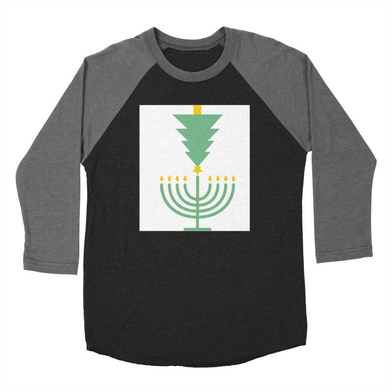 Happy Chrismukkah Women's Longsleeve T-Shirt by chrismukkah's Artist Shop