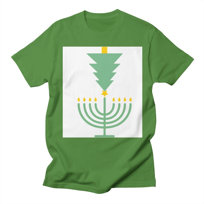 Happy Chrismukkah Men's Regular T-Shirt by chrismukkah's Artist Shop