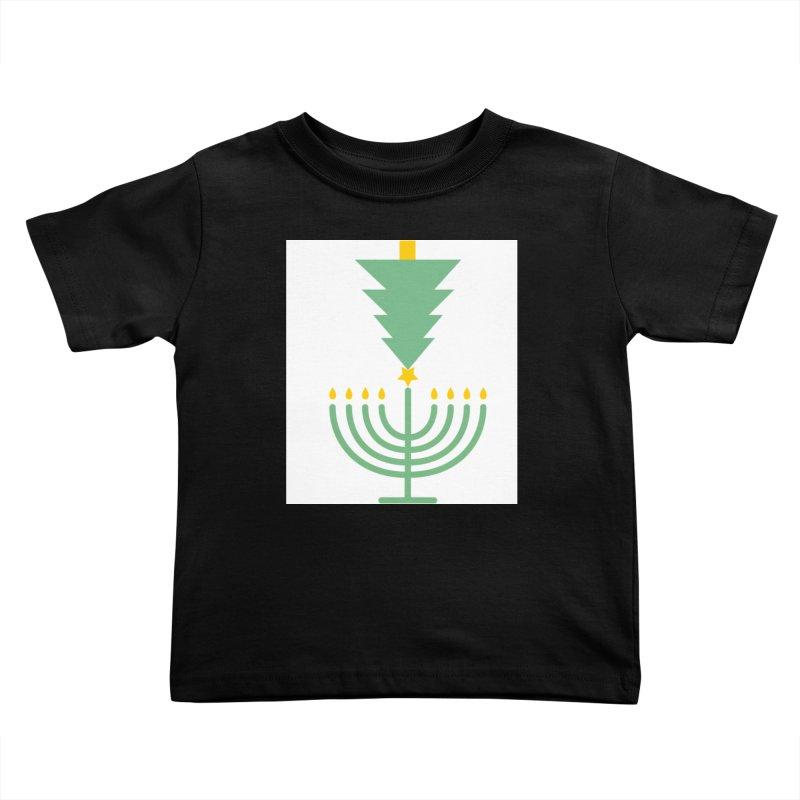 Happy Chrismukkah Kids Toddler T-Shirt by chrismukkah's Artist Shop