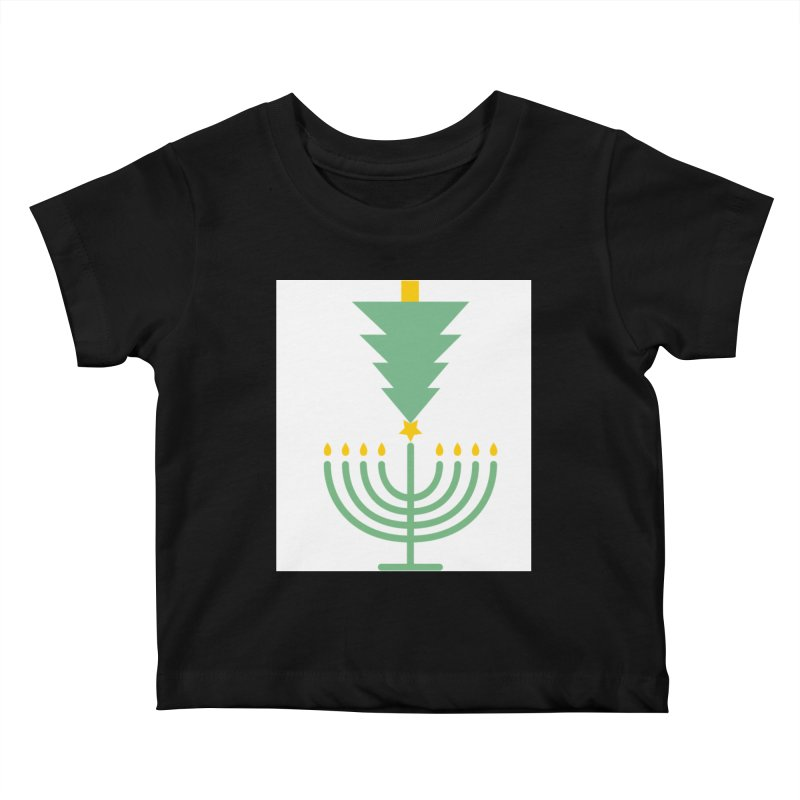 Happy Chrismukkah Kids Baby T-Shirt by chrismukkah's Artist Shop