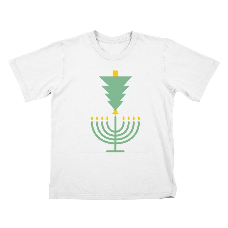 Happy Chrismukkah Kids T-Shirt by chrismukkah's Artist Shop