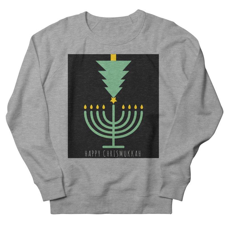 Happy Chrismukkah (with text) Women's Sweatshirt by chrismukkah's Artist Shop
