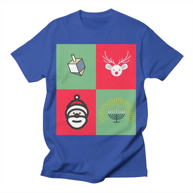 chrismukkah Men's T-Shirt by chrismukkah's Artist Shop