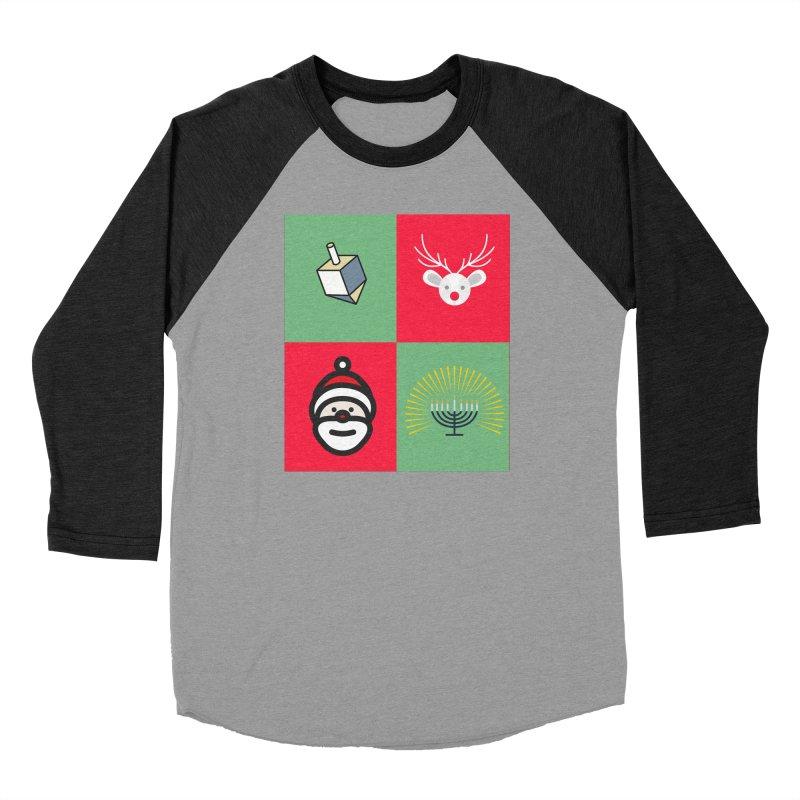 chrismukkah Women's Longsleeve T-Shirt by chrismukkah's Artist Shop