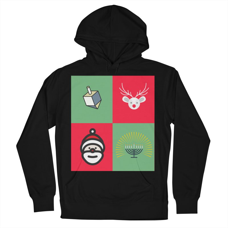 chrismukkah Women's French Terry Pullover Hoody by chrismukkah's Artist Shop