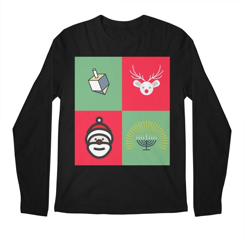 chrismukkah Men's Regular Longsleeve T-Shirt by chrismukkah's Artist Shop