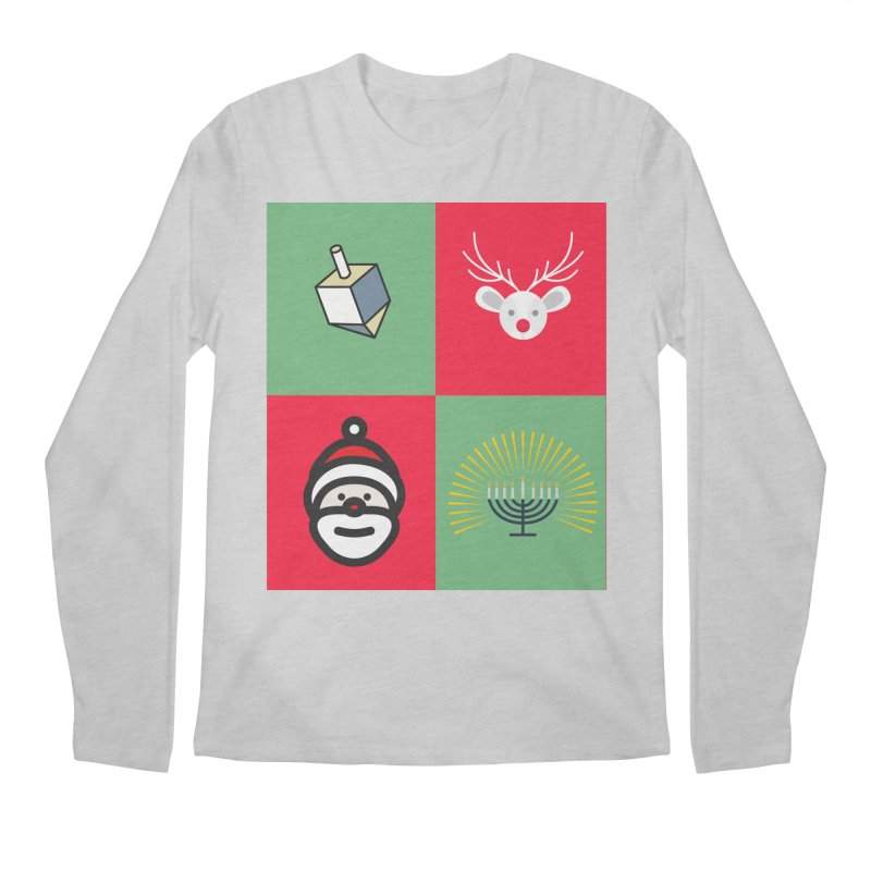 chrismukkah Men's Regular Longsleeve T-Shirt by chrismukkah's Artist Shop