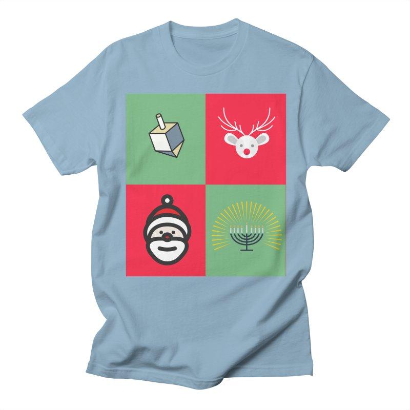 chrismukkah Women's Regular Unisex T-Shirt by chrismukkah's Artist Shop