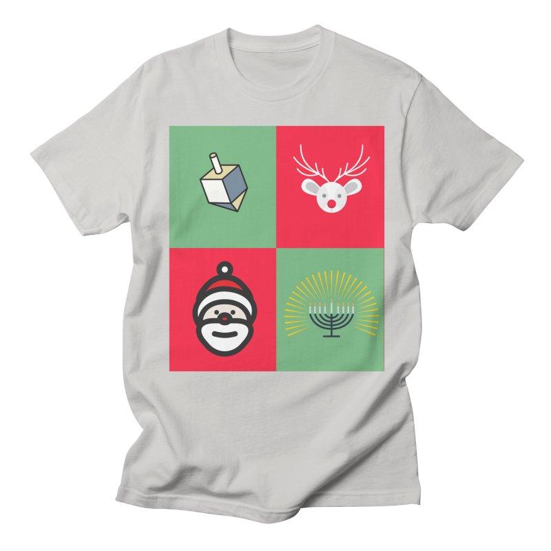 chrismukkah Men's Regular T-Shirt by chrismukkah's Artist Shop