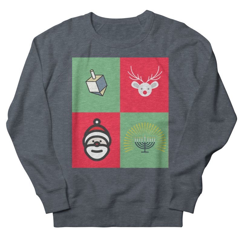 chrismukkah Women's French Terry Sweatshirt by chrismukkah's Artist Shop