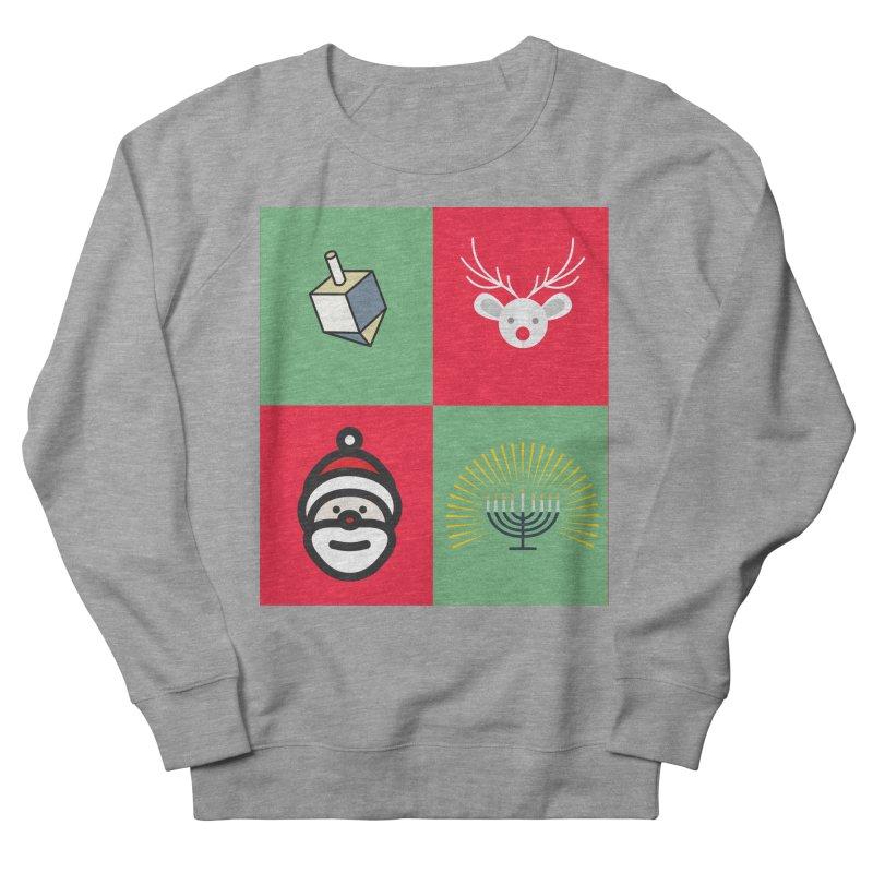 chrismukkah Women's French Terry Sweatshirt by chrismukkah's Artist Shop