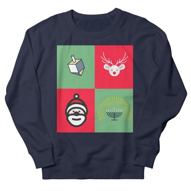 chrismukkah Men's French Terry Sweatshirt by chrismukkah's Artist Shop