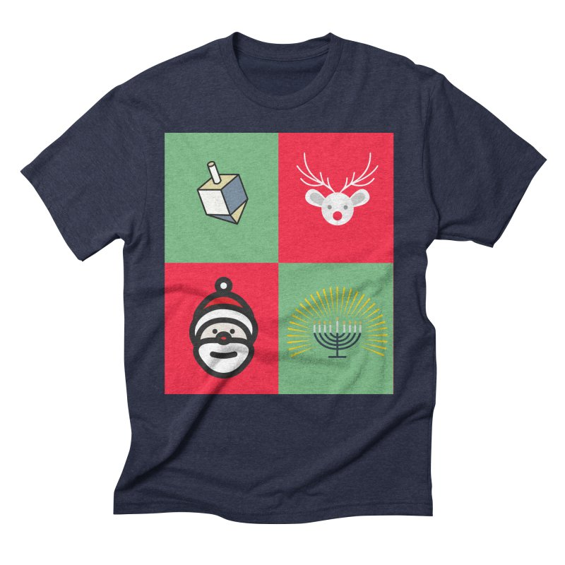 chrismukkah Men's Triblend T-Shirt by chrismukkah's Artist Shop
