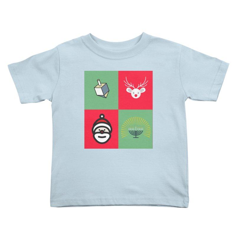 chrismukkah Kids Toddler T-Shirt by chrismukkah's Artist Shop