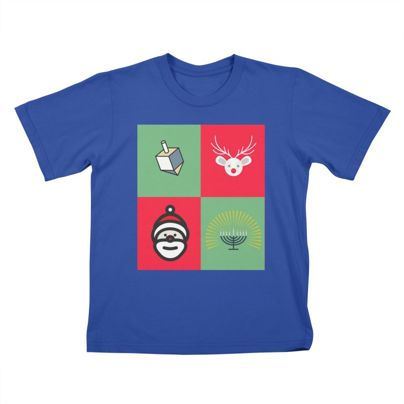 chrismukkah Kids T-Shirt by chrismukkah's Artist Shop