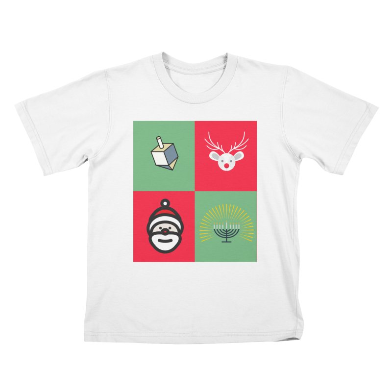 chrismukkah Kids T-Shirt by chrismukkah's Artist Shop