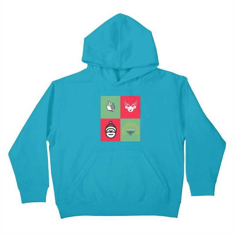 chrismukkah Kids Pullover Hoody by chrismukkah's Artist Shop