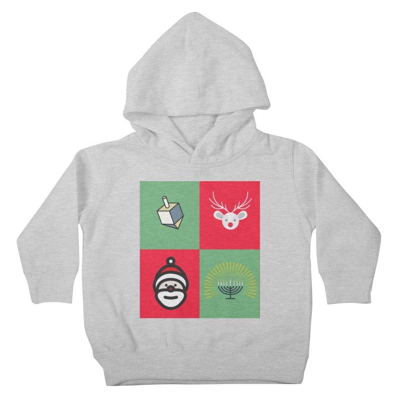chrismukkah Kids Toddler Pullover Hoody by chrismukkah's Artist Shop