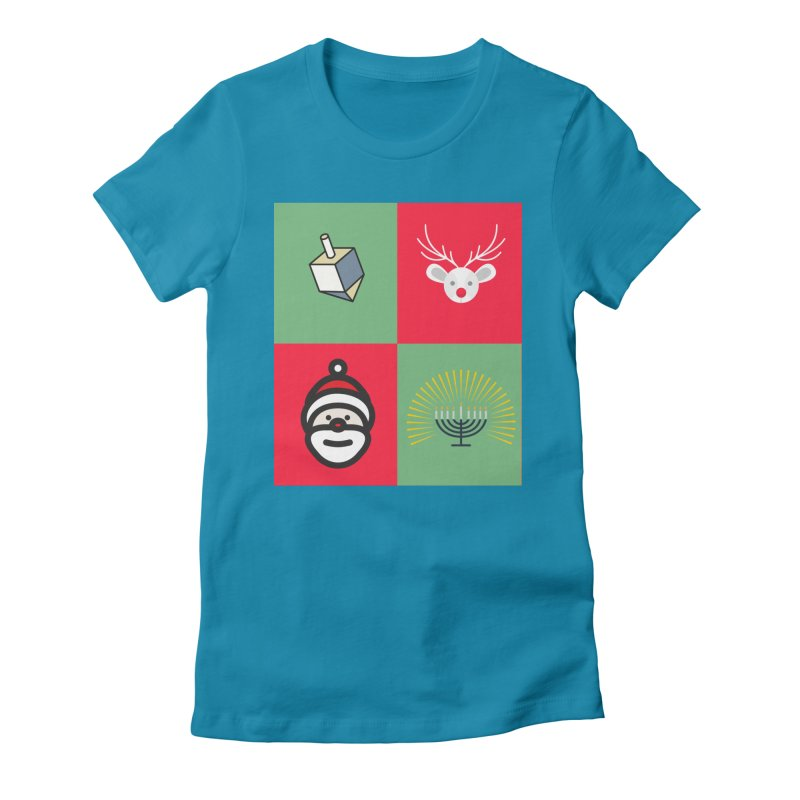 chrismukkah Women's T-Shirt by chrismukkah's Artist Shop