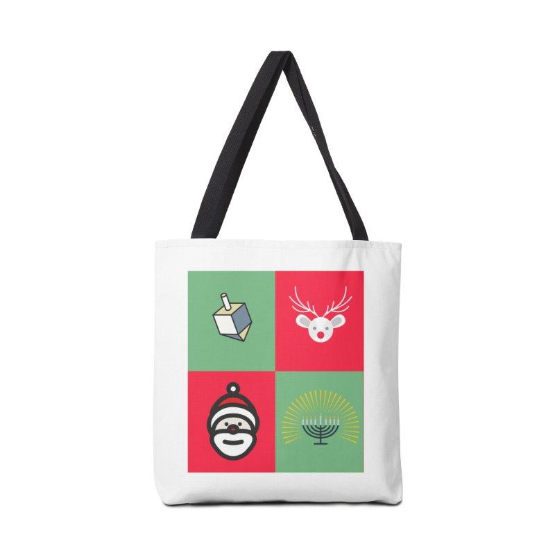 chrismukkah Accessories Bag by chrismukkah's Artist Shop