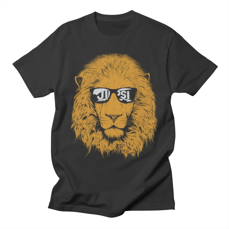 Aslan Goes to Hollywood Men's T-Shirt by ChrisPatersonCanDraw's Artist Shop