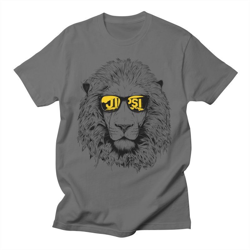 Aslan Goes to Hollywood - Reverse Print Men's T-Shirt by ChrisPatersonCanDraw's Artist Shop