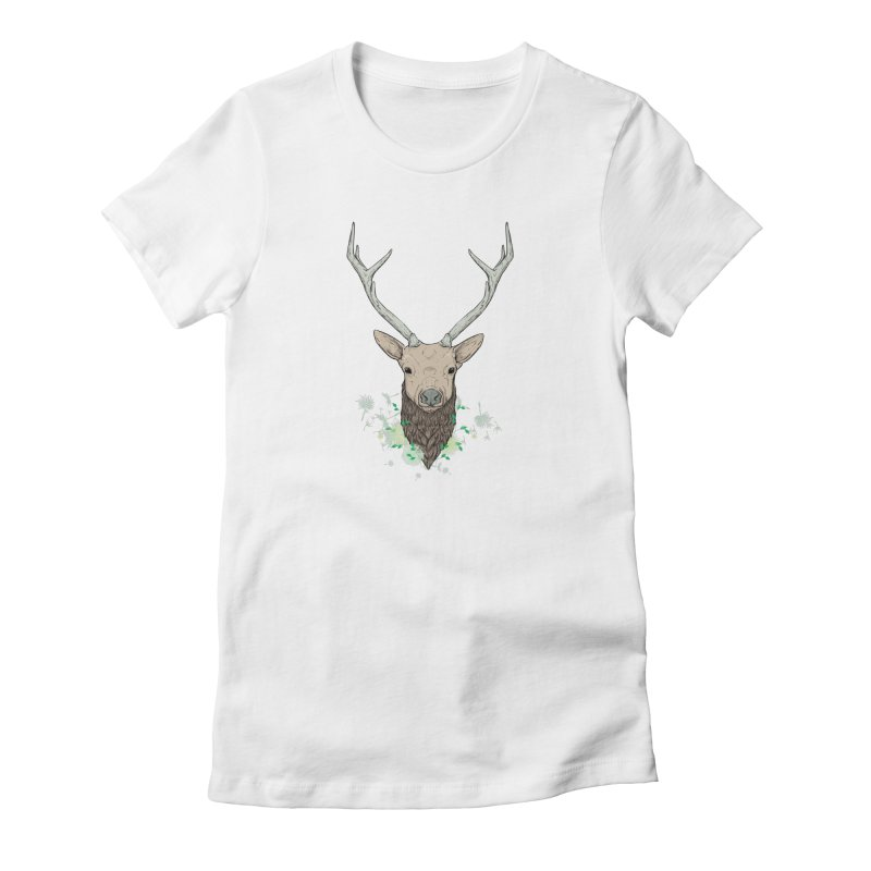Spring Deer Women's T-Shirt by ChrisPatersonCanDraw's Artist Shop