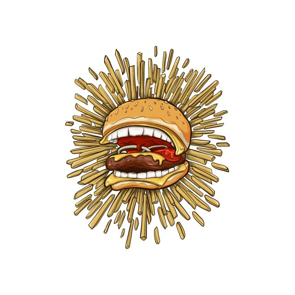 image for Killer Fast Food - Burgers Bite Back