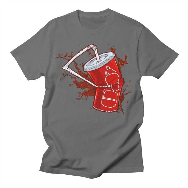 Killer Fast Food - Cola Sucks Men's T-Shirt by ChrisPatersonCanDraw's Artist Shop