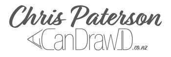 ChrisPatersonCanDraw's Artist Shop Logo