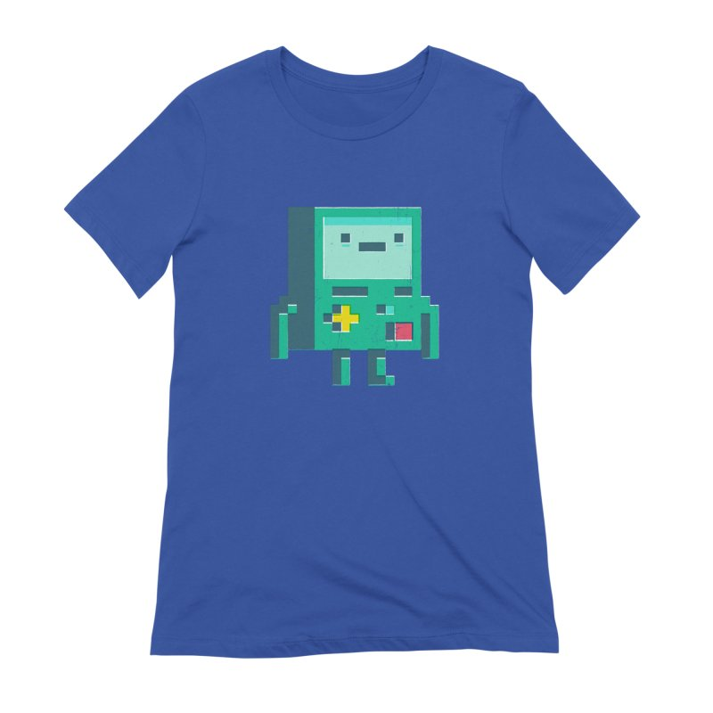 Pixel boy Women's Extra Soft T-Shirt by chrissayer's Artist Shop