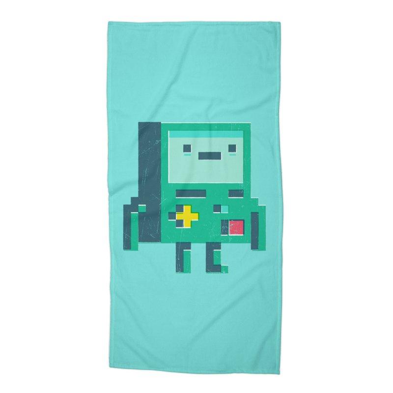 Pixel boy Accessories Beach Towel by chrissayer's Artist Shop