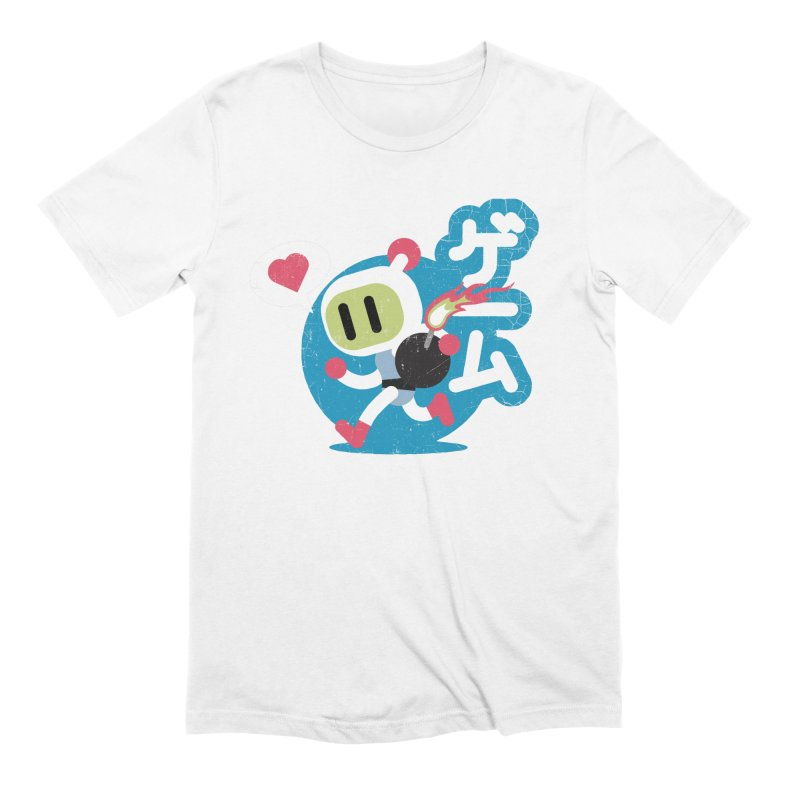 Video Game Love Men's Extra Soft T-Shirt by chrissayer's Artist Shop